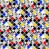 Design seamless colorful mosaic pattern — Stock vektor
