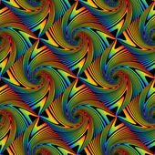 Design seamless colorful swirl pattern — Vettoriale Stock