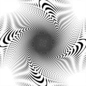 Design uncolored trellis interlaced spiral background — Stock Vector
