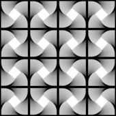 设计无缝涡流运动的几何图案 — 图库矢量图片