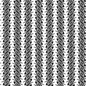 Ontwerp naadloze monochroom verticale decoratief patroon — Stockvector