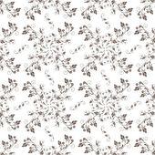 бесшовный цветочный узор. вектор иллюстрация — Cтоковый вектор