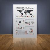 Vysoce kvalitní business infographic prvky — Stock vektor