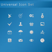 Universal icon set — Stock Vector