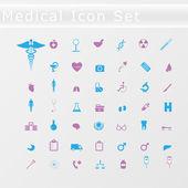 Sada lékařské ikon — Stock vektor