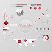 Medycyna, zdrowie i opieka zdrowotna ikony — Wektor stockowy