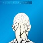 Brain tree illustration — Stock Vector #50640709