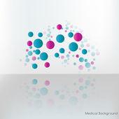 Molecular compounds. — Stock Vector