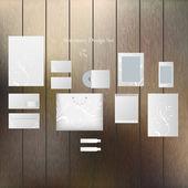 Website template elements — Stock Vector