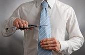 领带切刀 — 图库照片