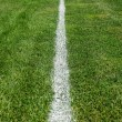 Chalk line boundary — Stockfoto