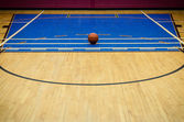 Gymnasium Basketball — Stock Photo
