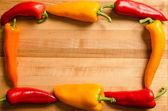 Gränsen av paprika — Stockfoto