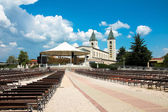 Bosnien - medjugorje - kyrkan — Stockfoto