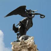 Napoli - monumento — Foto Stock
