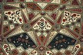 アンバー フォート - ジャイプール、インドの宮殿でインテリアのフラグメント. — ストック写真
