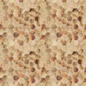 Seamless Hexagon Yellowish Marble Texture — Foto Stock