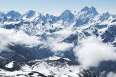 Observatory peak Terskol in Elbrus — Stock Photo