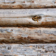 Photo: Old wooden wall