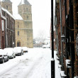 Church in snow — Stock Photo #26490033