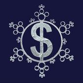 Christmas greeting for business — Stock Photo