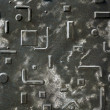 Seamless Metal Texture — Stock Photo