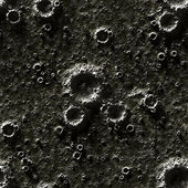 Texture of the Moon, seamless — Stock Photo