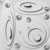 White background, optical illusion, seamless — Stock Photo