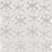 White, textured background, snowflake, seamless, 3d — Stock Photo