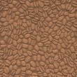 3d abstract background, coffee, seamless — Stock Photo