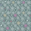 3d  background,  snowflake,  seamless — Stock Photo