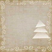 Christmas background, seamless, 3d — 图库照片