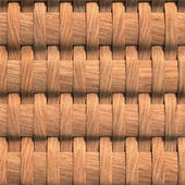 3d background, wooden weaving, seamless — Stock Photo