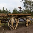 Old Farm Wagon — Stock Photo