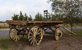 Oude boerderij wagen — Stockfoto