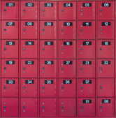 Red Postboxs — Stock Photo