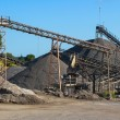 Gravel Works — Stockfoto