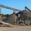 Gravel Works — Stock Photo