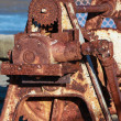 Stock Photo: Rusty Gearing