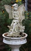 Garden fairy — Stock Photo