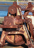 Rusty Gearing — Stock Photo