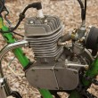 Stock Photo: Bike 2 Stroke Motor
