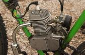 Bike 2 Stroke Motor — Stock Photo