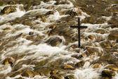 Rushing Salvation Cross — Foto Stock