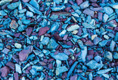 Red and Blue Stone Chips — Stock Photo