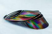 Colorful Slinky — Stock Photo