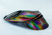 Colorful Slinky — Stock Photo