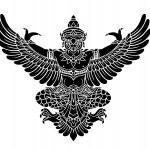 Garuda vector — Stock Vector #48840367