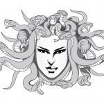 Medusa vector — Stock Vector #48934273