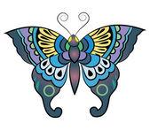 蝶ファンタジー — ストックベクタ